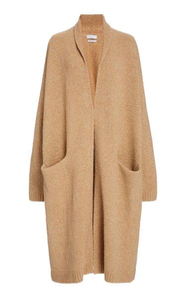 Cassie Oversized Wool-Blend Cardigan