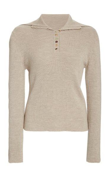 Harper Merino Wool Polo Shirt