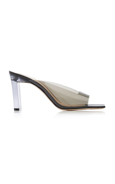 Isa Leather And PVC Sandals