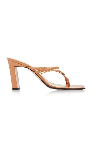 Yara Embellished Leather Sandals