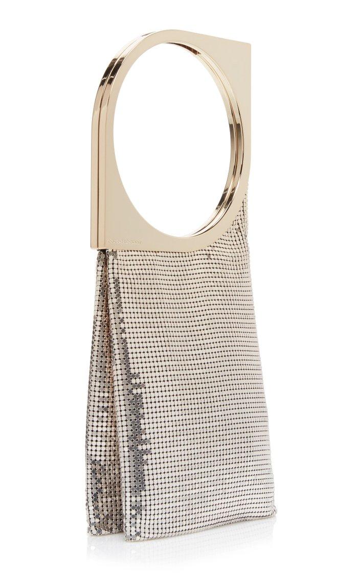 Chainmail Top Handle Bag