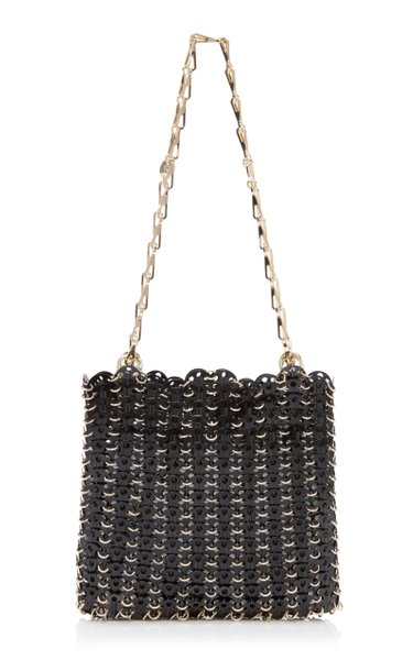 Two-Tone Chainmail Shoulder Bag