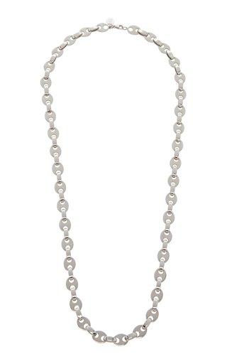 Eight Nano Silver-Tone Necklace