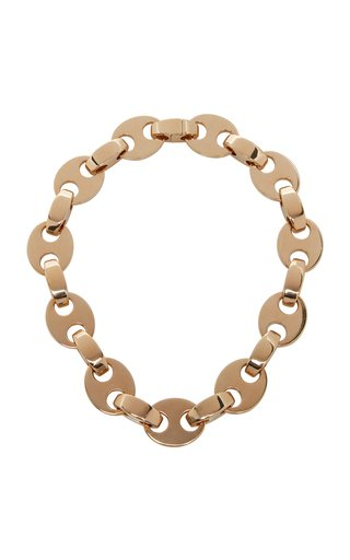 Chunky Eight Chain-Link Necklace