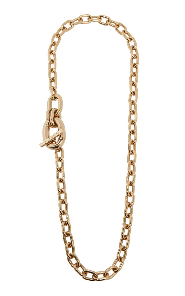 XL Link Gold-Tone Necklace