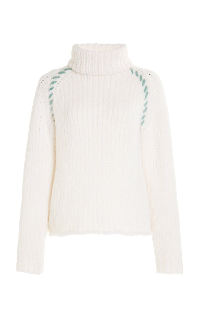 Cashmere Whipstitched Saturday Sweater