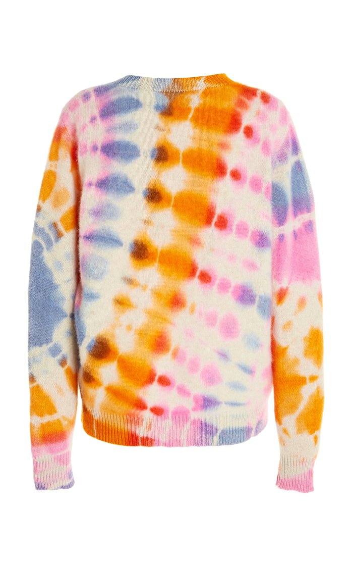 Illusion-Dyed Cashmere Sweater Crew