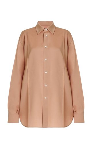 Nadir Oversized Wool Shirt