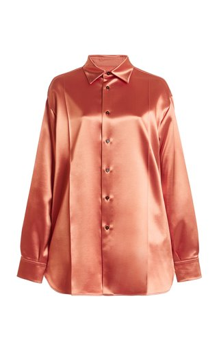 Nadir Oversized Satin Shirt