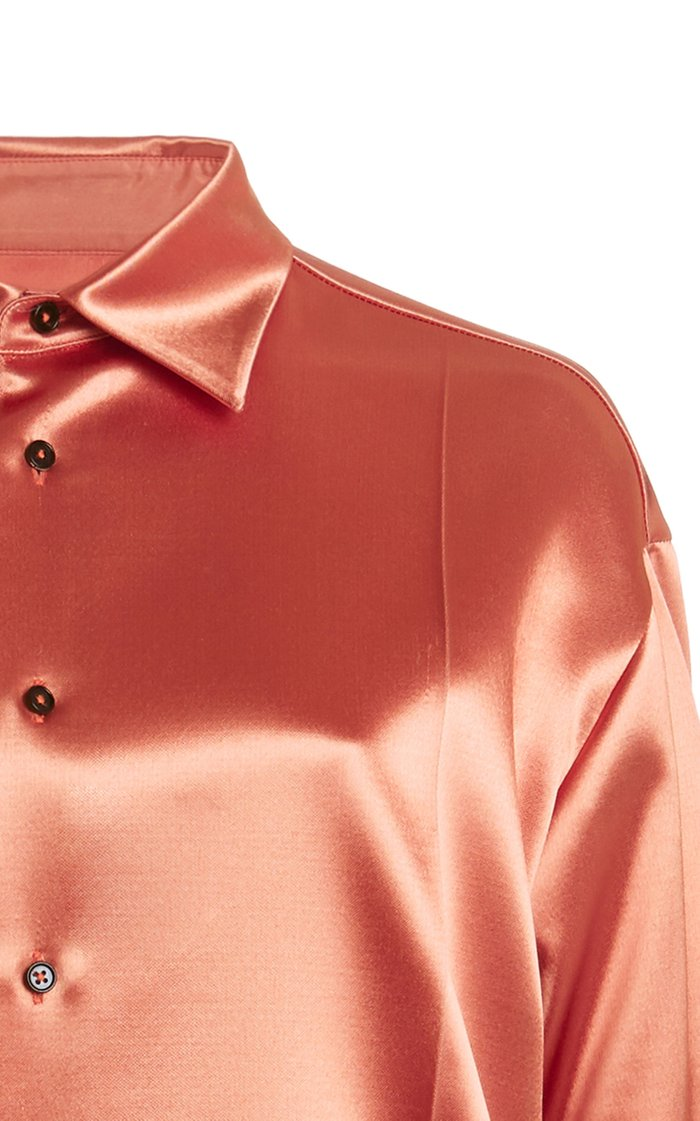 Nadir Oversized Satin Shirt