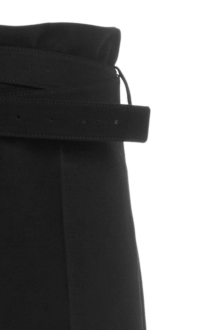 Noriyuki Belted Wide-Leg Pants