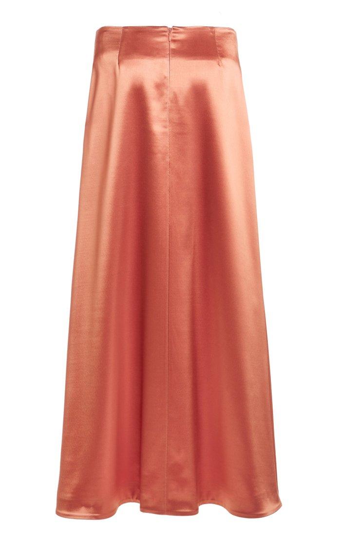 Nigella Satin Maxi Skirt