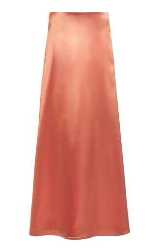Nigella Satin Maxi Skirt
