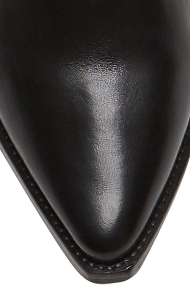 Denvee Leather Knee Boots