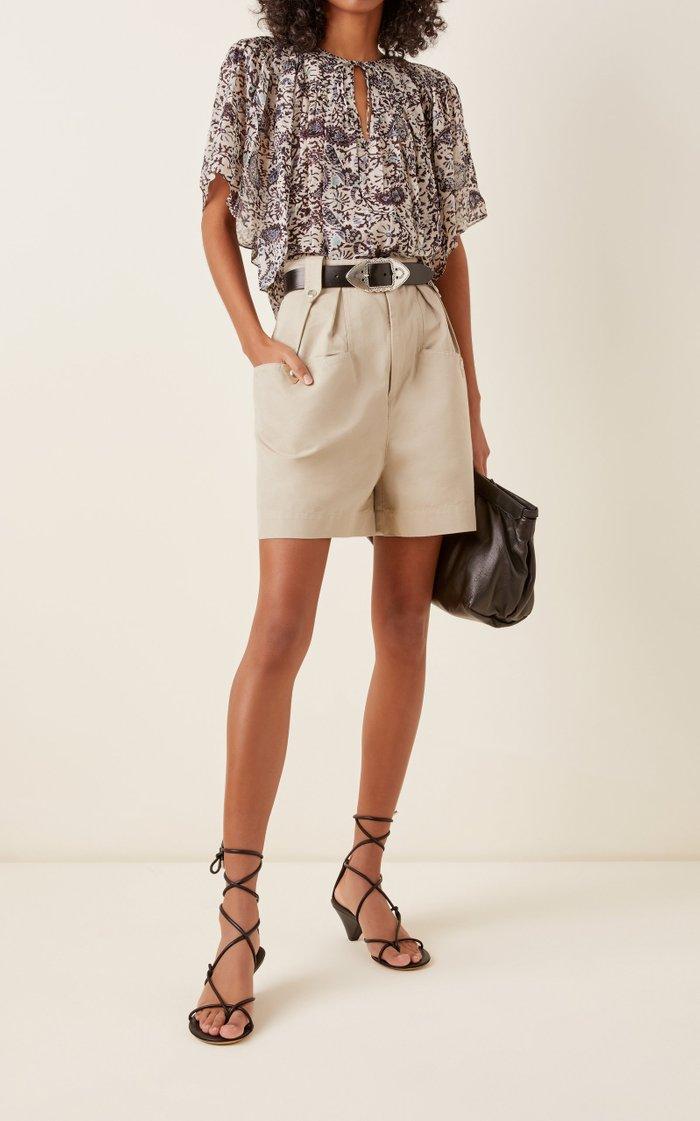 Allua Lace-Up Leather Sandals