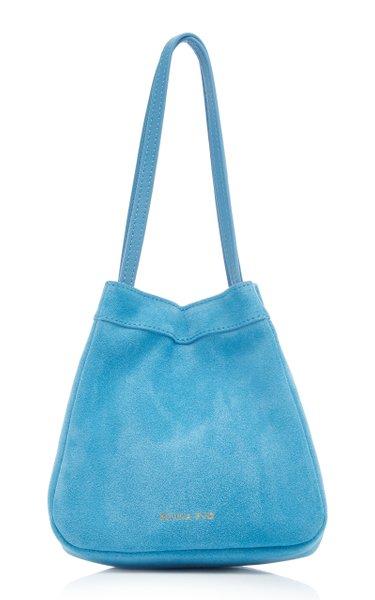 Rita Suede Top Handle Bag