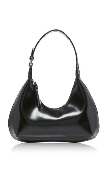 Baby Amber Patent Leather Shoulder Bag
