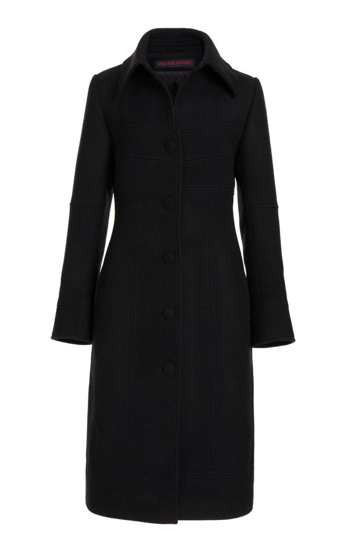 Napolean Wool-Blend Coat