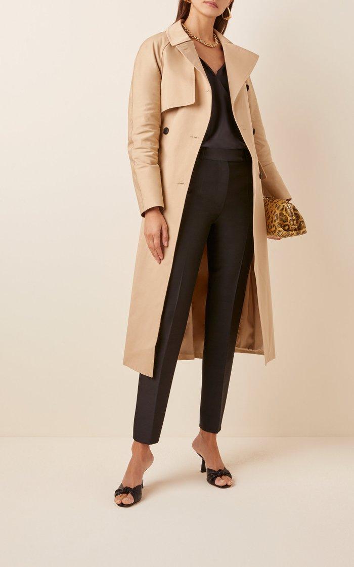 Cotton-Gabardine Trench Coat