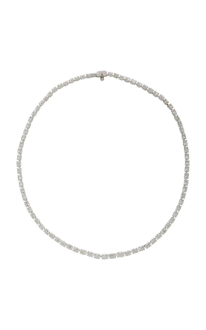 Platinum And Diamond Necklace