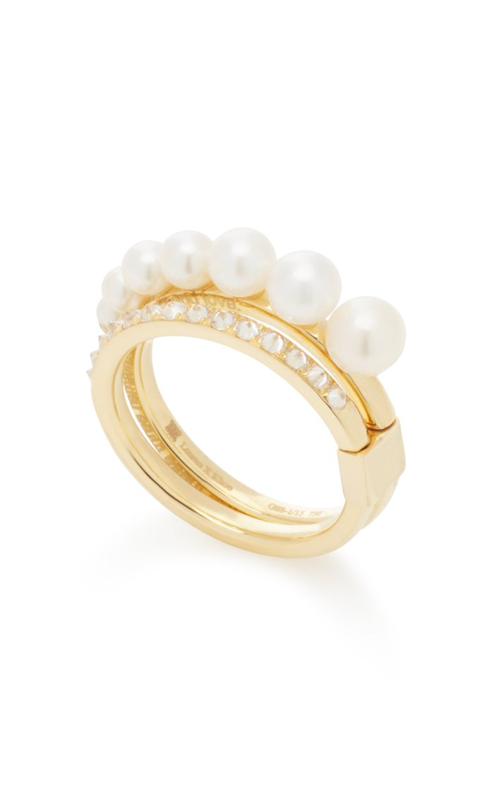 Diamond Pearl Mitosis Ring