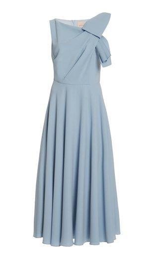 Brigitte Draped Midi Dress
