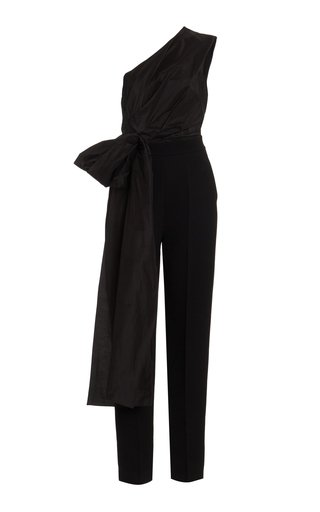 Lea Taffeta and Silk and Cotton-Blend Jumpsuit
