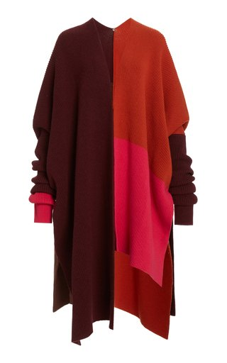 Runway Noa Wool-Knit Cape
