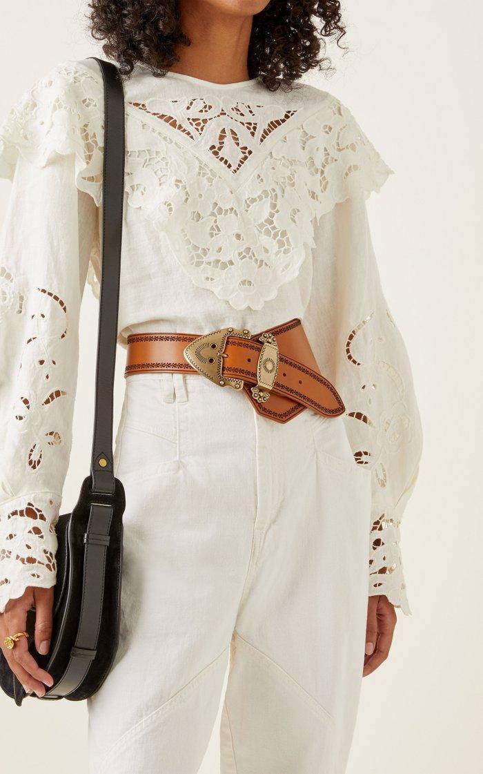 Liko Leather Waist Belt