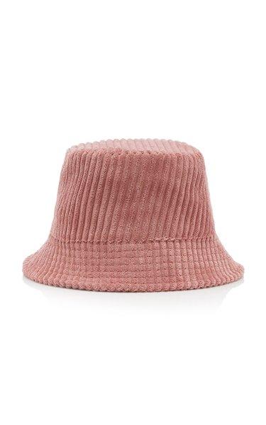 Haley Logo-Embroidered Corduroy Bucket Hat