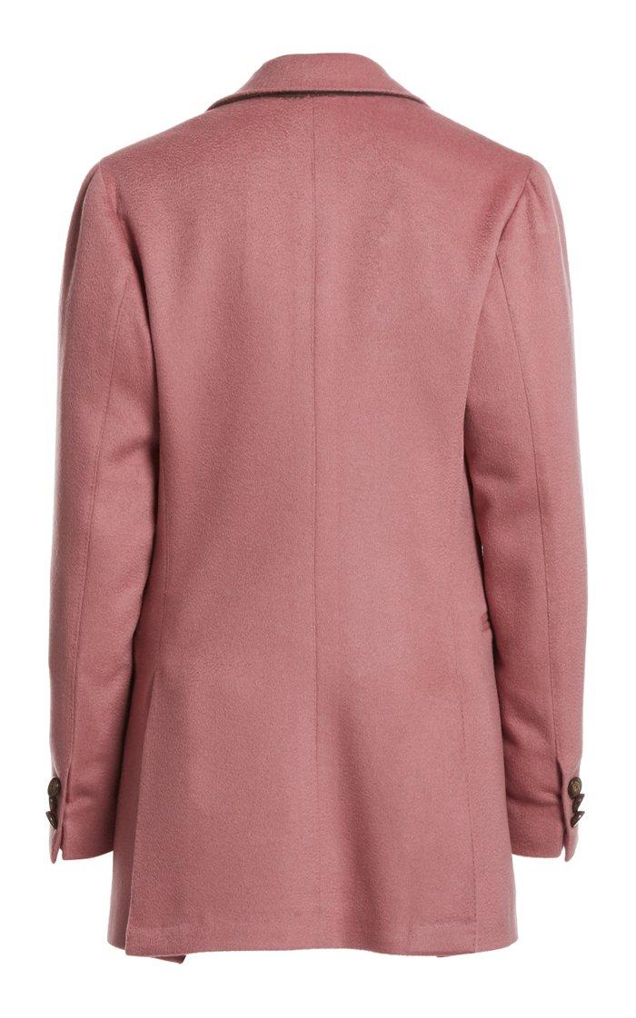 The Stella Cashmere Double-Breasted Blazer