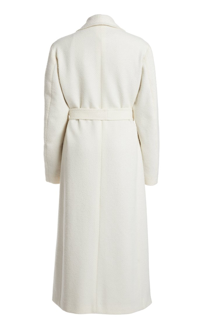 The Linda Wool-Blend Belted Robe Coat