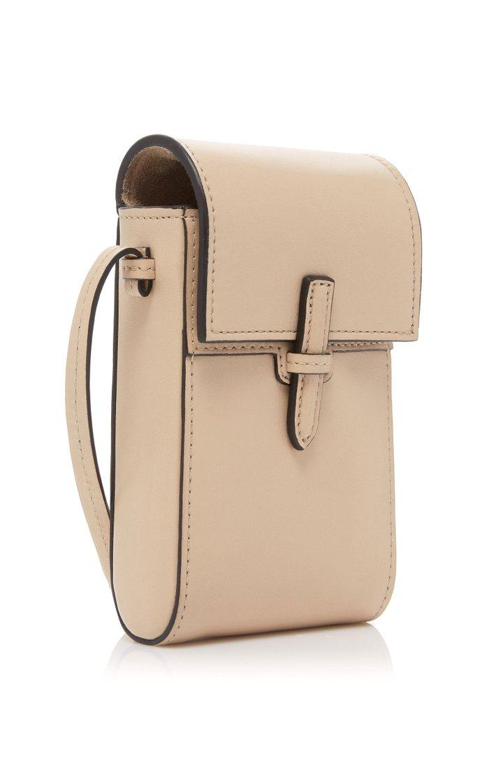 The Crossbody Pouch Leather Bag