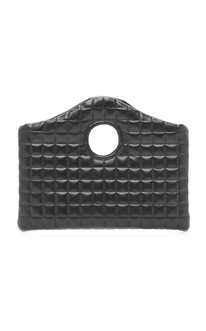 Anouk Mini Quilted Leather-Effect Bag