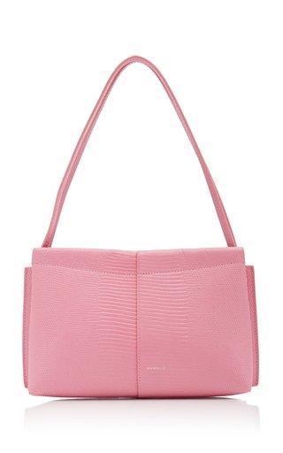 Carly Mini Lizard-Effect Leather Shoulder Bag