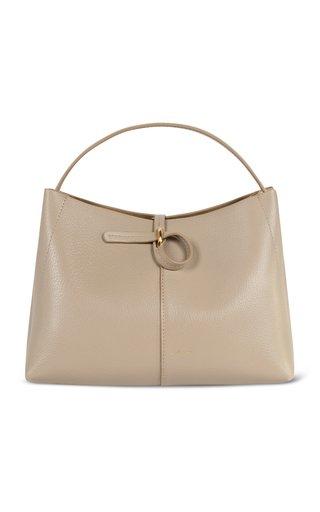 Ava Mini Leather Top-Handle Bag
