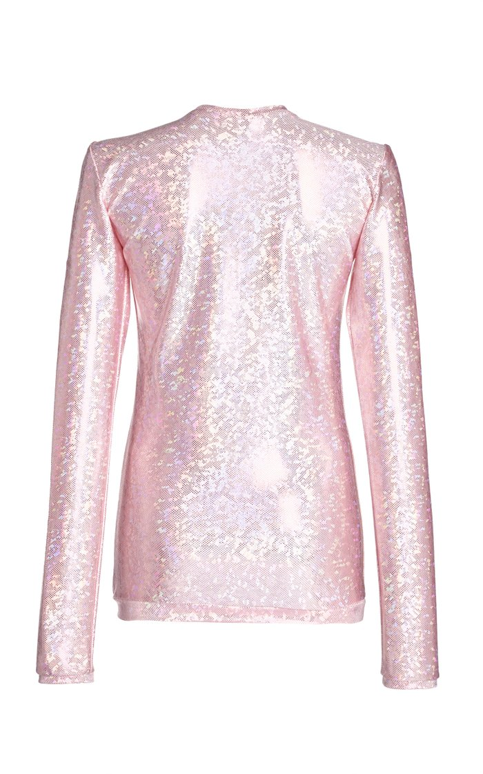 Saya Glittered Vinyl Top