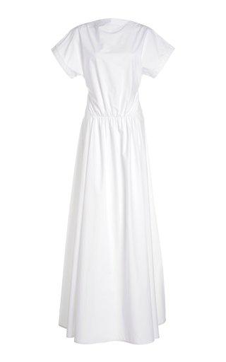 Cotton-Poplin Maxi Dress