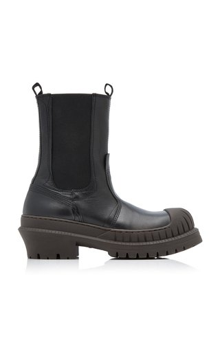 Bryant Lug-Sole Leather Chelsea Boots