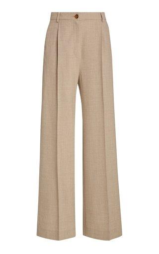 Phoebe Crepe Wool Trousers