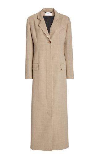 Modesty Crepe Wool Blazer Dress