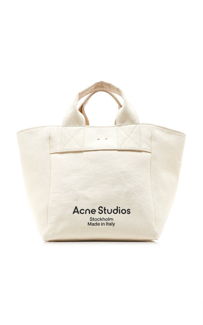 Alisse Logo-Print Canvas Tote Bag