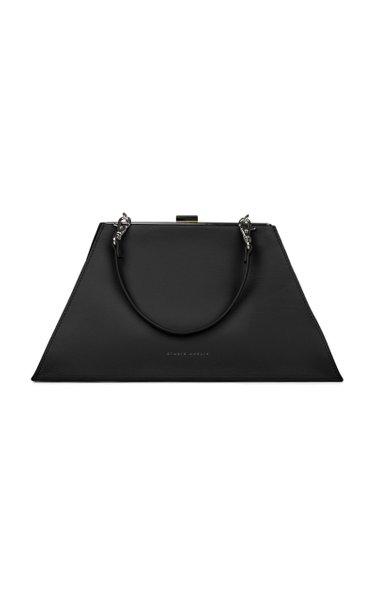 Trapeze Mini Leather Bag
