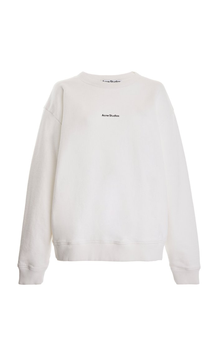 Fierre Printed Cotton-Jersey Sweatshirt