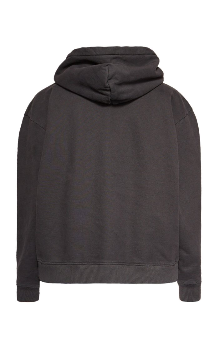 Feirdra Oversized Logo-Stamped Cotton Hoodie