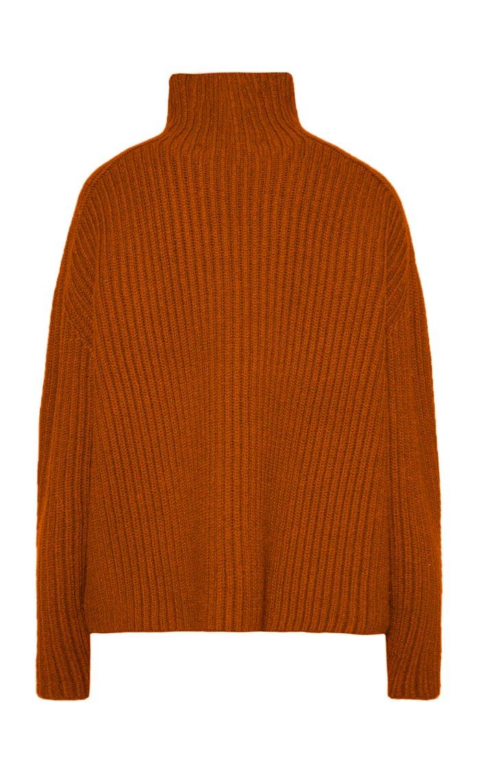 Kamanda Ribbed Wool Turtleneck