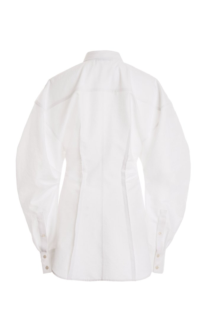 Sintranne Oversized Poplin Shirt