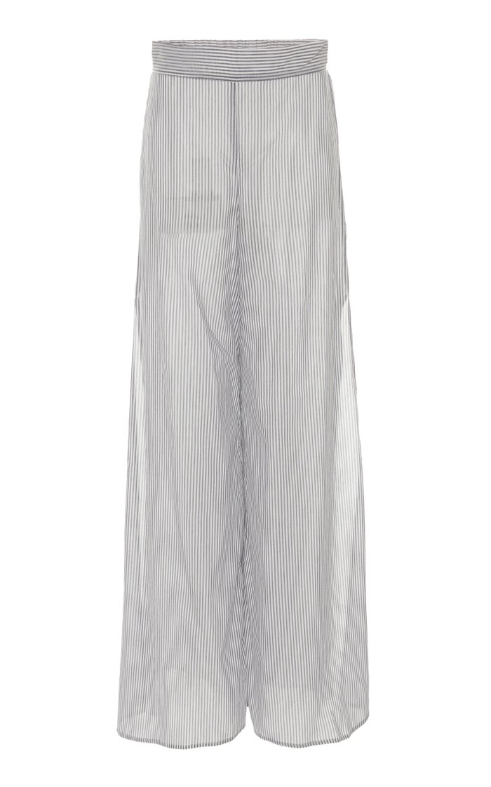 Nanna Cotton Wide-Leg Pants
