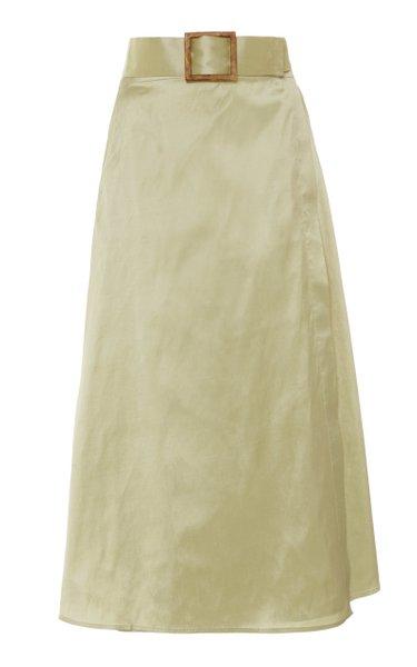Abbi Silk Skirt