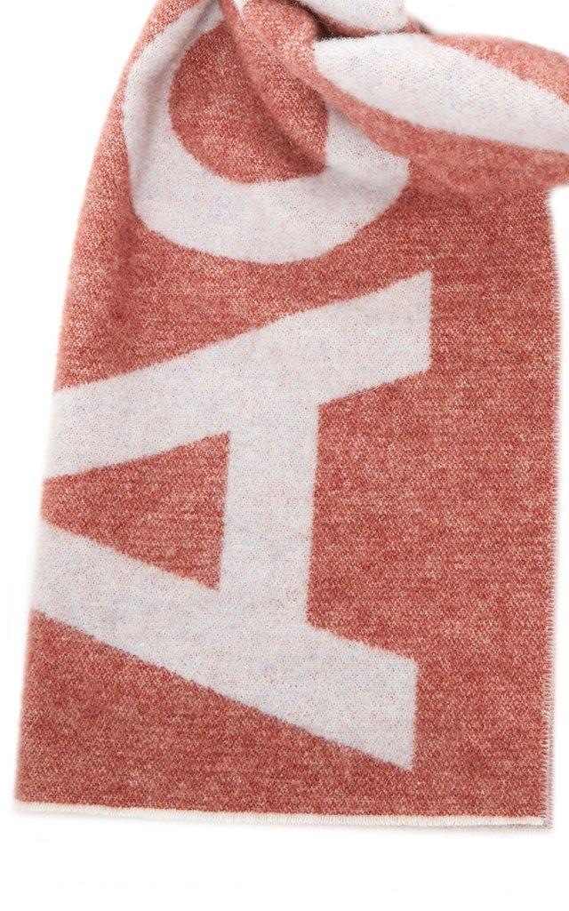 Toronty Logo Wool-Blend Scarf